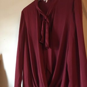 BCBG Generation blouse -long sleeve- size Large